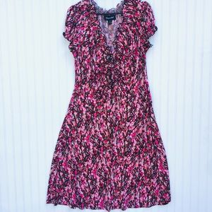 Connected Floral Dress